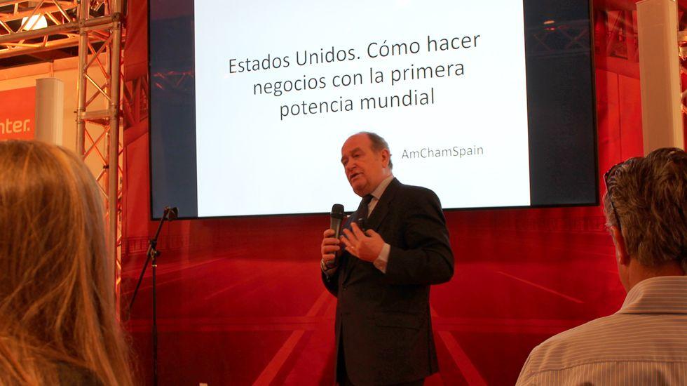 Francisco Flores, en su conferencia en IMEX-Asturias