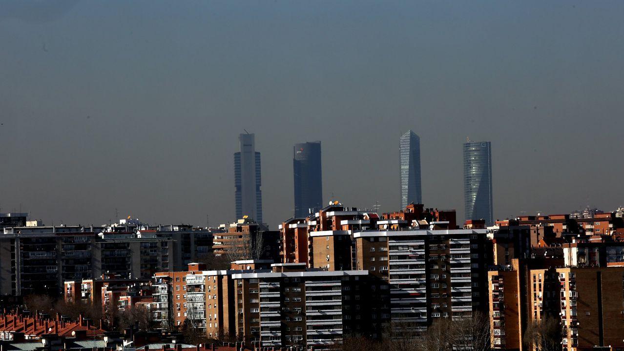 «Temos que cobrar o que vale o producto: cada ovo custa un euro».Panorámica de Madrid con altos niveles de polución