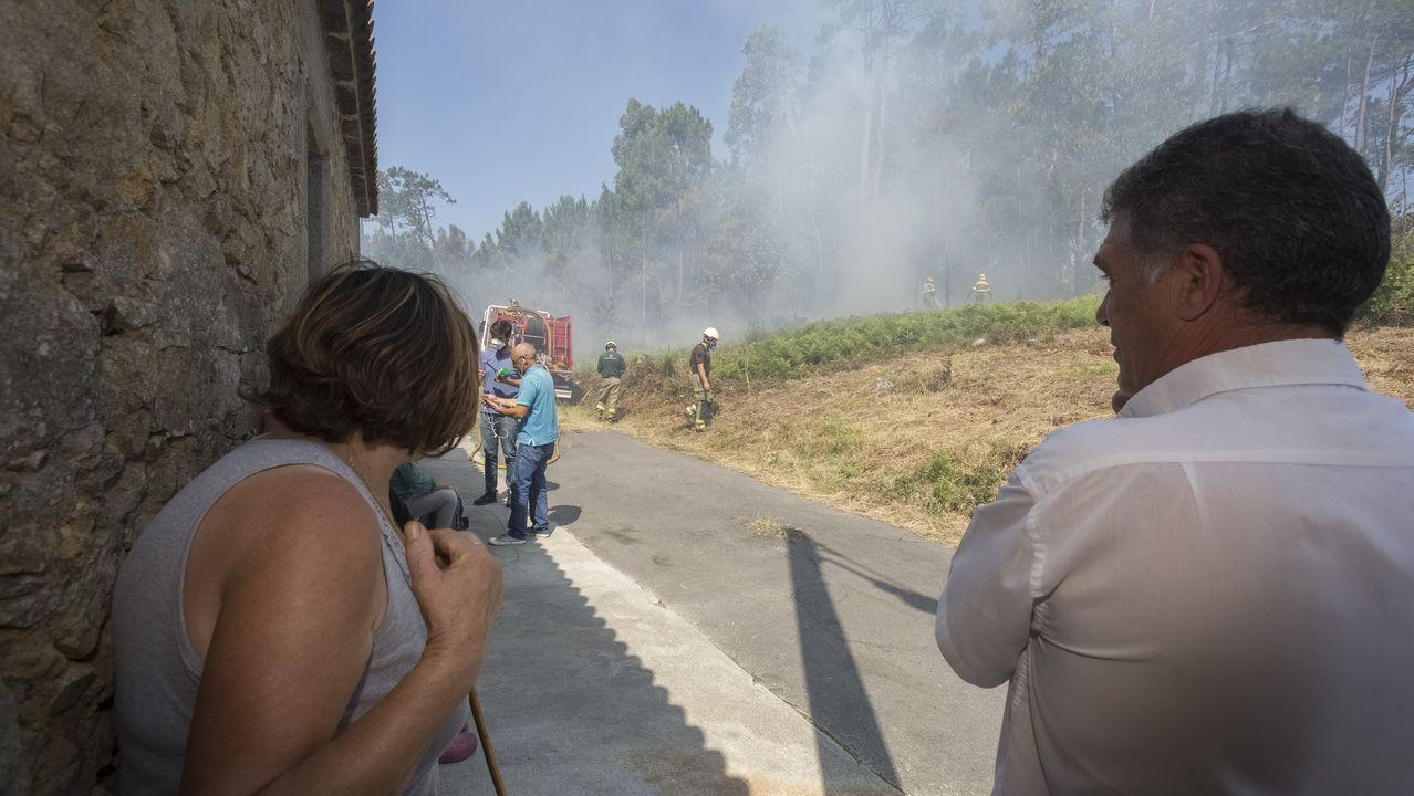 Incendio en Fisterra