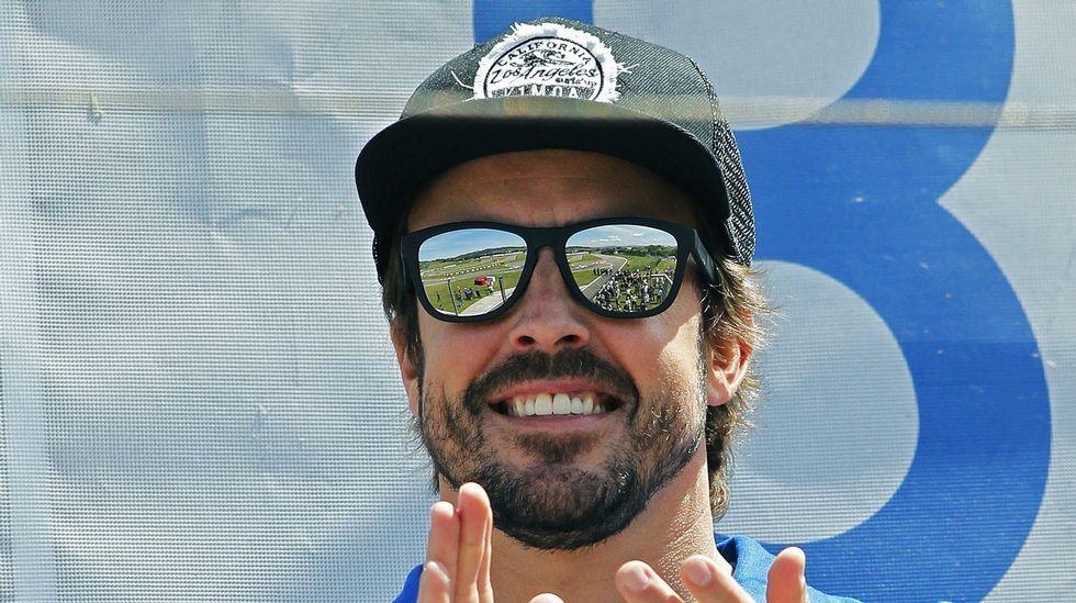 Alonso se despide por todo lo alto en Abu Dabi.Fernando Alonso en Asturias