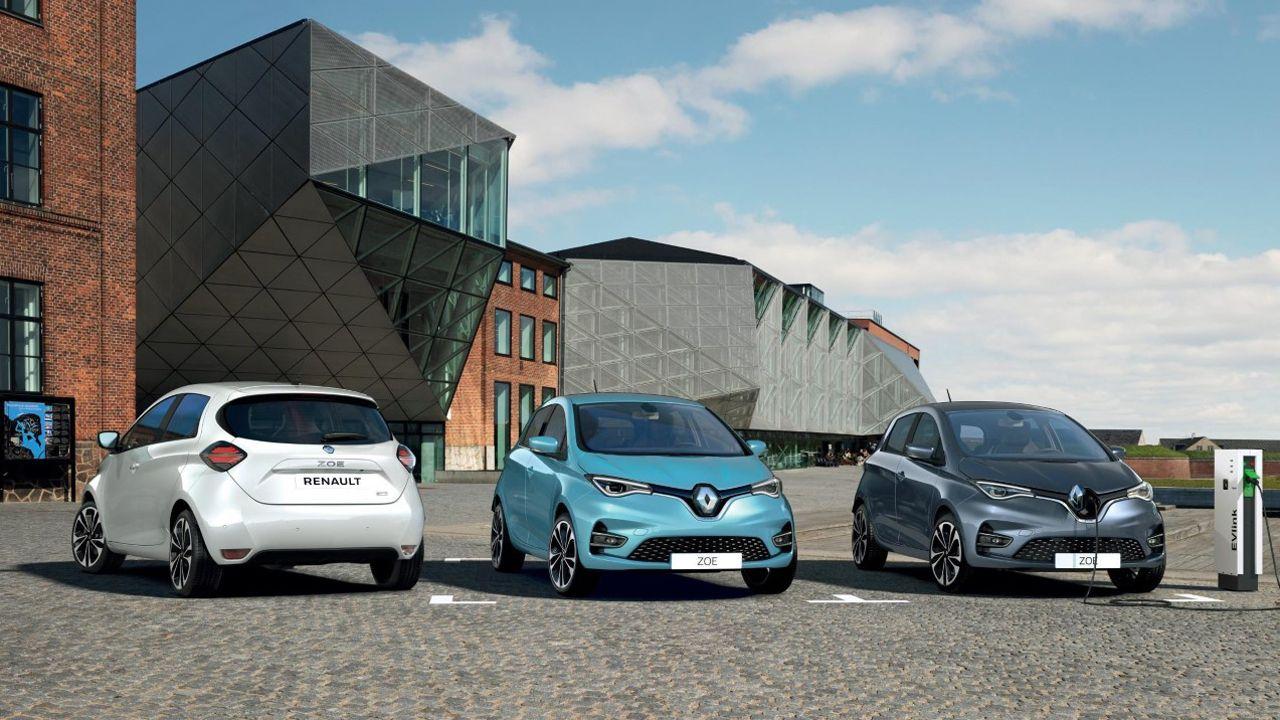 El nuevo Zoe eléctrico de Renault