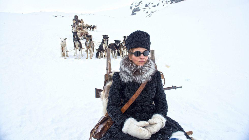 Juliette Binoche en el papel de Josefina