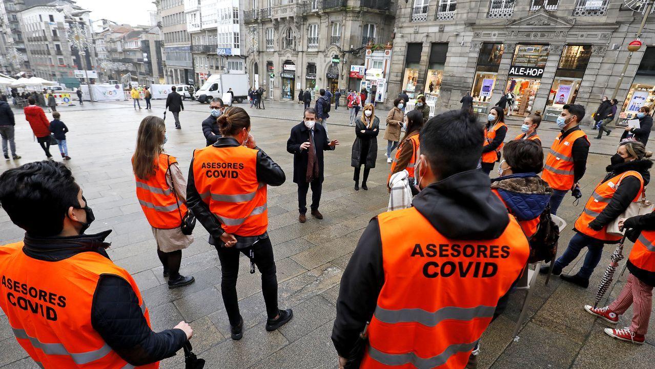 «Donde ves una rampa yo veo un peligroso tobogán».La cabalgata de Reyes en Vigo del 2019, antes de la pandemia