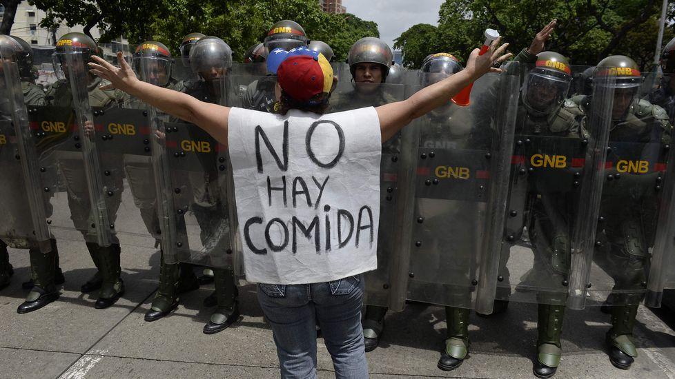Rivera y el líder opositor venezolano, Henrique Capriles