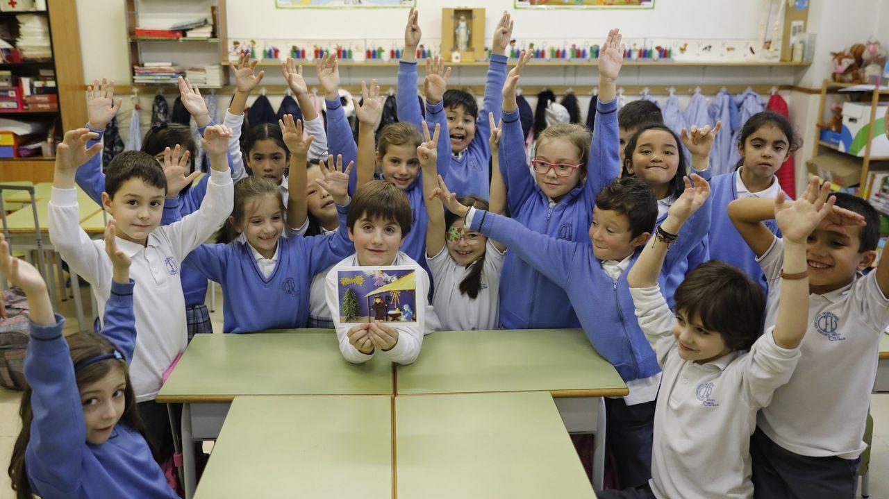 Imagen de archivo de alumnos del colegio La Purísima, donde disfrutarán de esta actividad