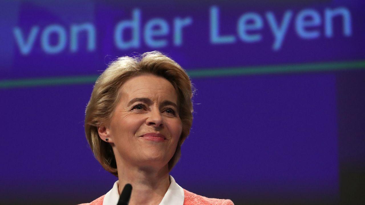 La futura presidenta de la Comisión Europea, Ursula von der Leyen, presentó este martes su nuevo equipo de gobierno para la legislatura entre el 2019 y el 2024