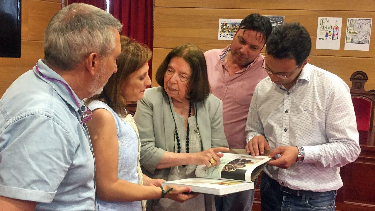 El coro de la Fundación Princesa, de Asturias a Colombia.Jesús Otero