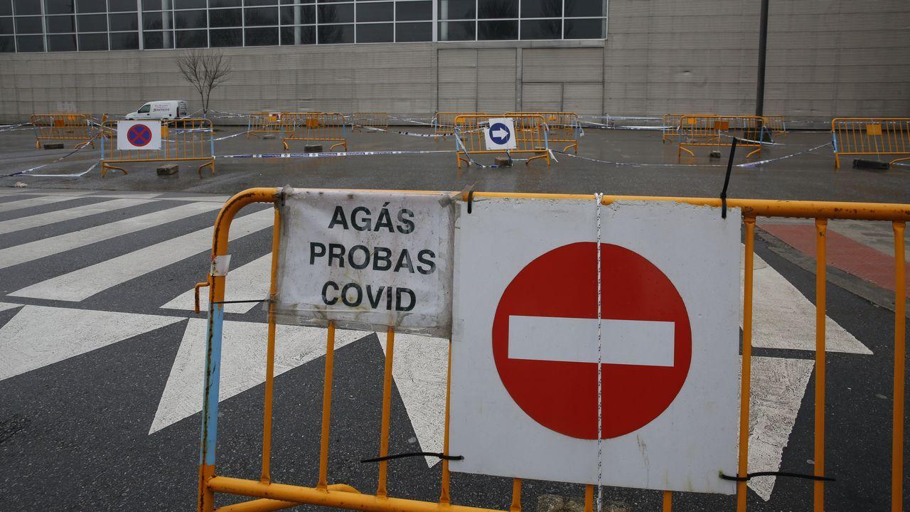 La primera jornada de vacunación masiva fue el 13 de marzo en el recinto ferial de Pontevedra