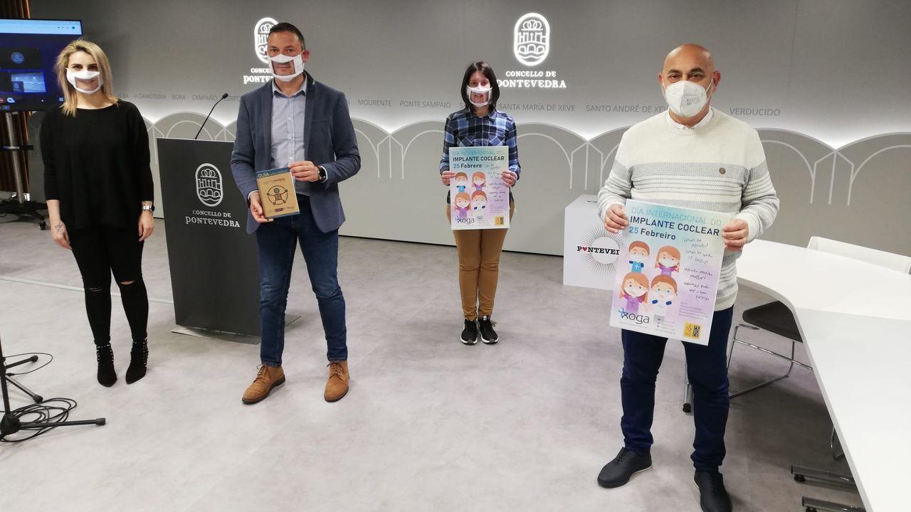 Presentación en Pontevedra de la primera Guía sociosanitaria para personas con diversidad sensorial de Galicia