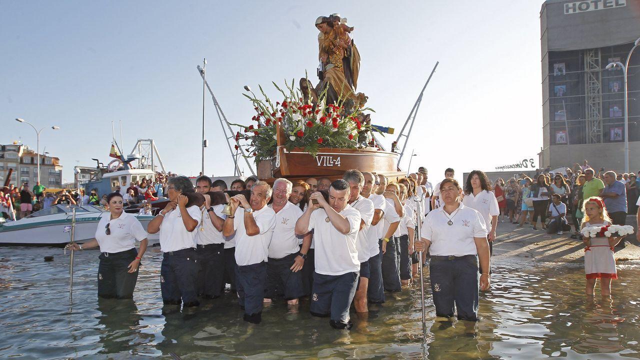 Fotos a remojo en la<span lang= gl >Festa da Auga de Vilagarcía</span>