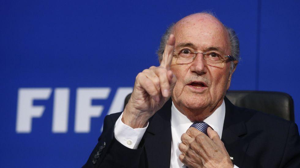 Algunos de los implicados en las tramas de corrupción de la FIFA