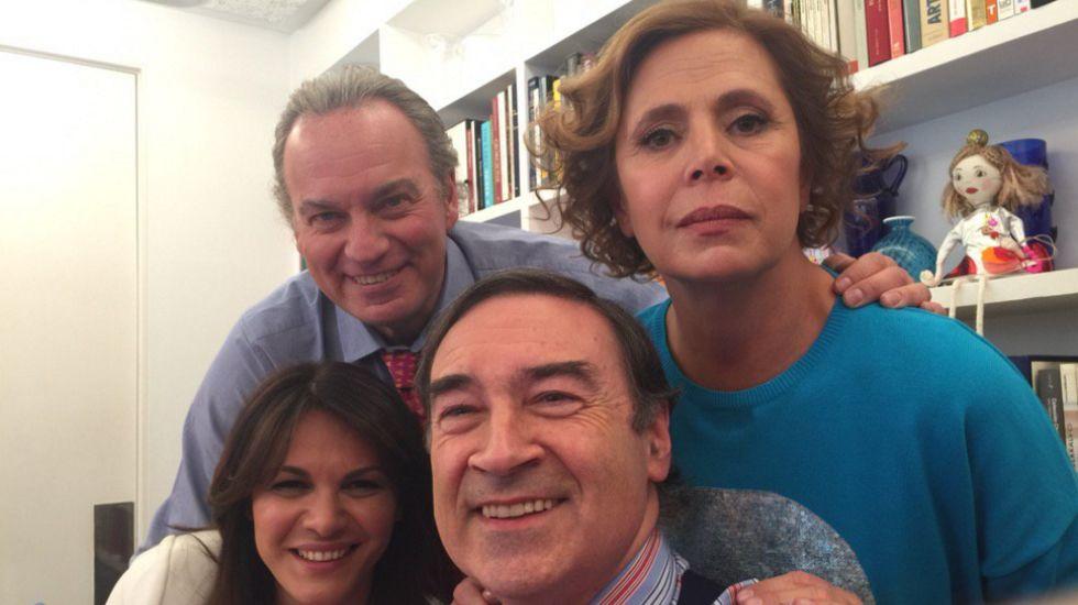 «Fabiola y Bertín han venido a ver a Agatha. Ahora le enseñaré mis libros. Muy pronto @enlatuyaolamia», escribía en su perfil de Twitter Pedro J. Ramírez el pasado 15 de febrero.