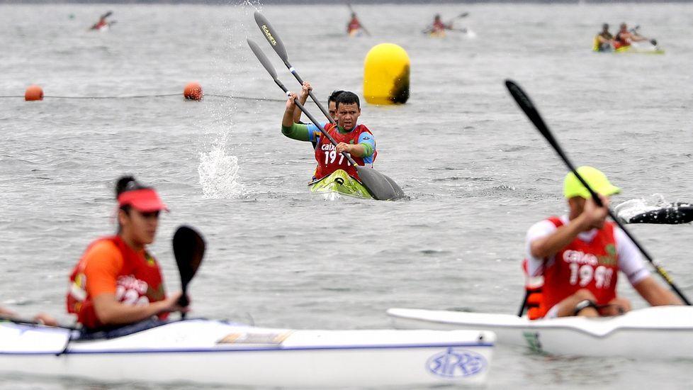 Las pruebas de kayak de mar se celebrarán en doble jornada de mañana y tarde en Cabanas