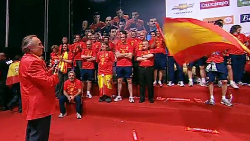 La selección española, su gran debilidad