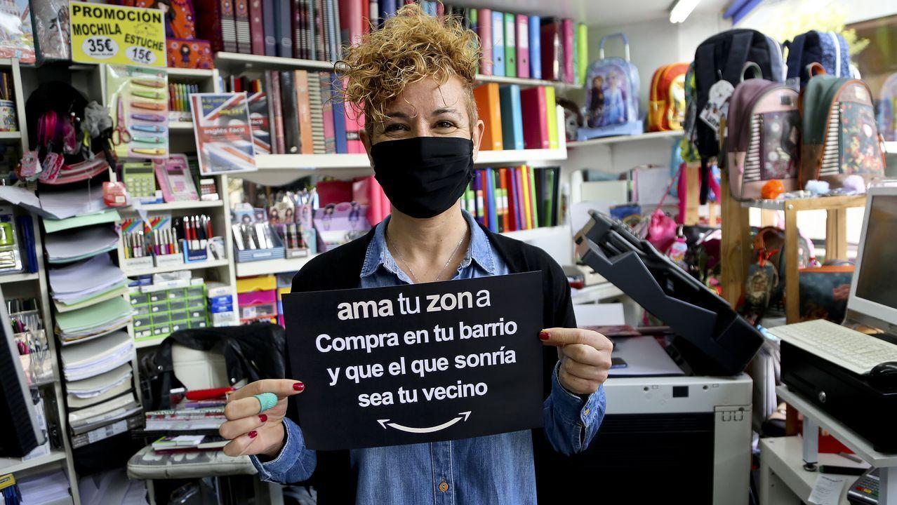 Alberto Núñez Feijoo y Adrián Barbón en el último Encuentro en el Eo, celebrado de forma virtual por la pandemia del covid-19