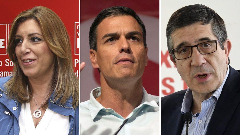 Díaz y Sánchez multiplican por seis el mínimo de avales exigido