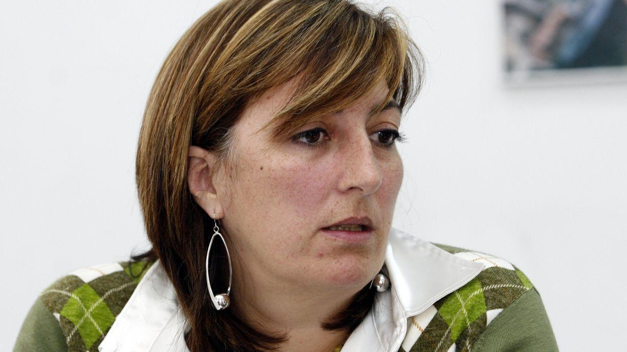Un paseo en globo para combatir el calor.Isabel Sánchez Montenegro, nunha fotografía do ano 2007, na súa etapa como concelleira en Monforte