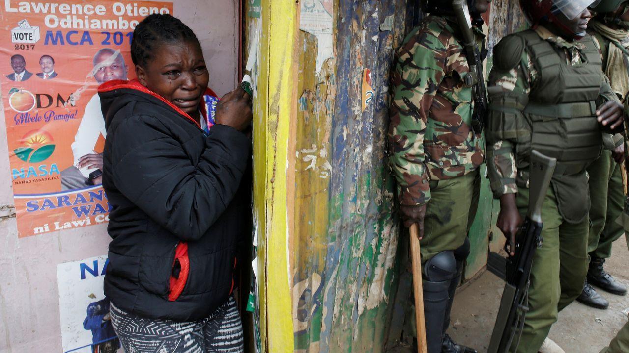 Las protestas en Keniatras las elecciones