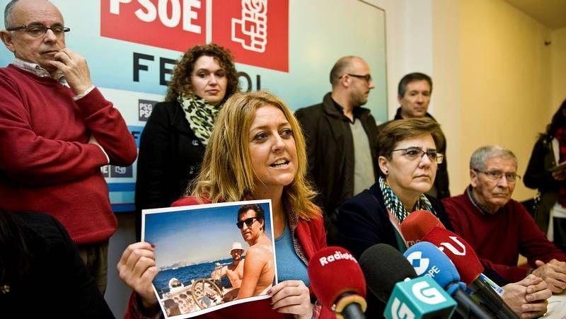 Sestayo muestra una de las polémicas fotos de Feijoo con Marcial Dorado
