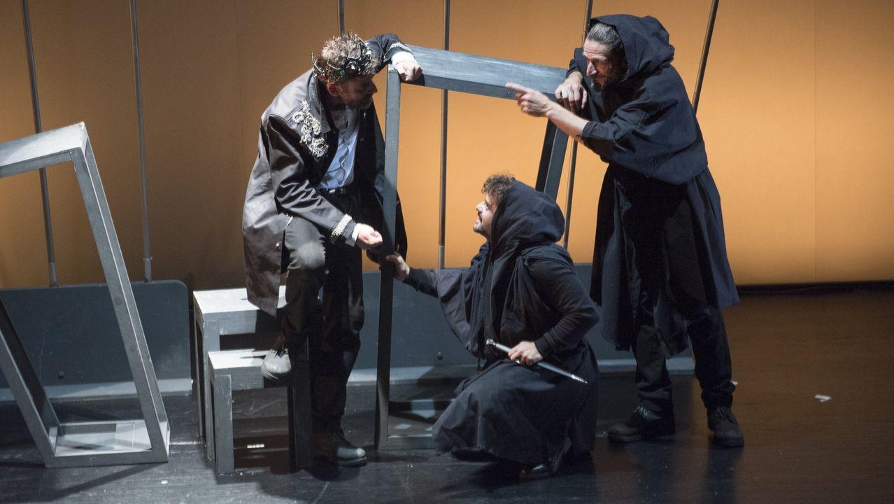 Estudo Momento representará el 15 de marzo «Macbeth. O ruído e a furia»