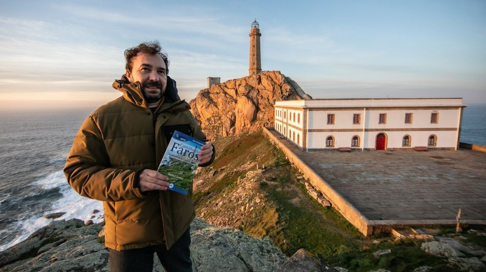El escritor Rafael Lema