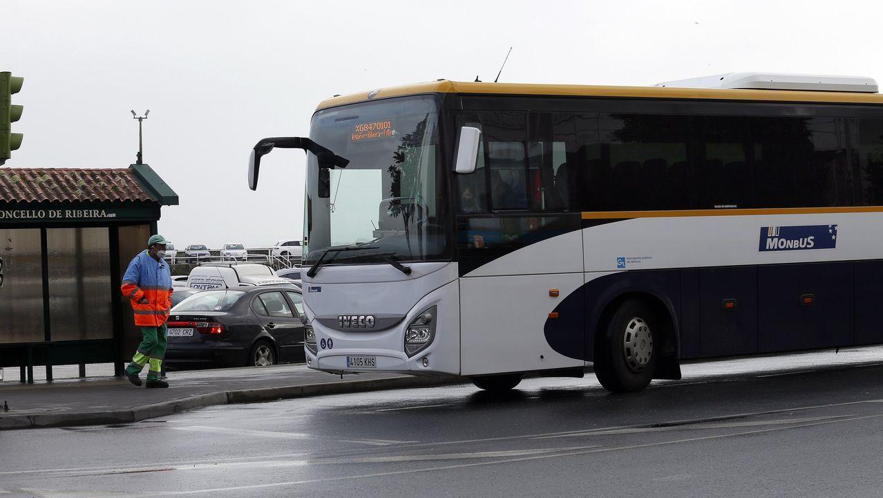 Nuevas líneas de transporte en Ribeira