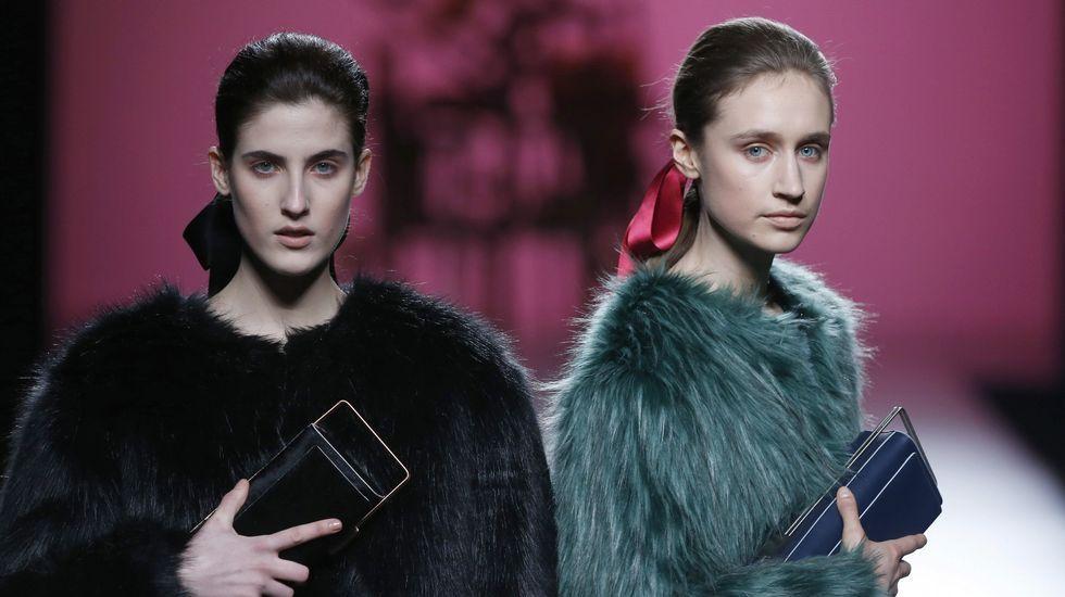 Lo mejor de la Madrid Fashion Week.Moisés Nieto