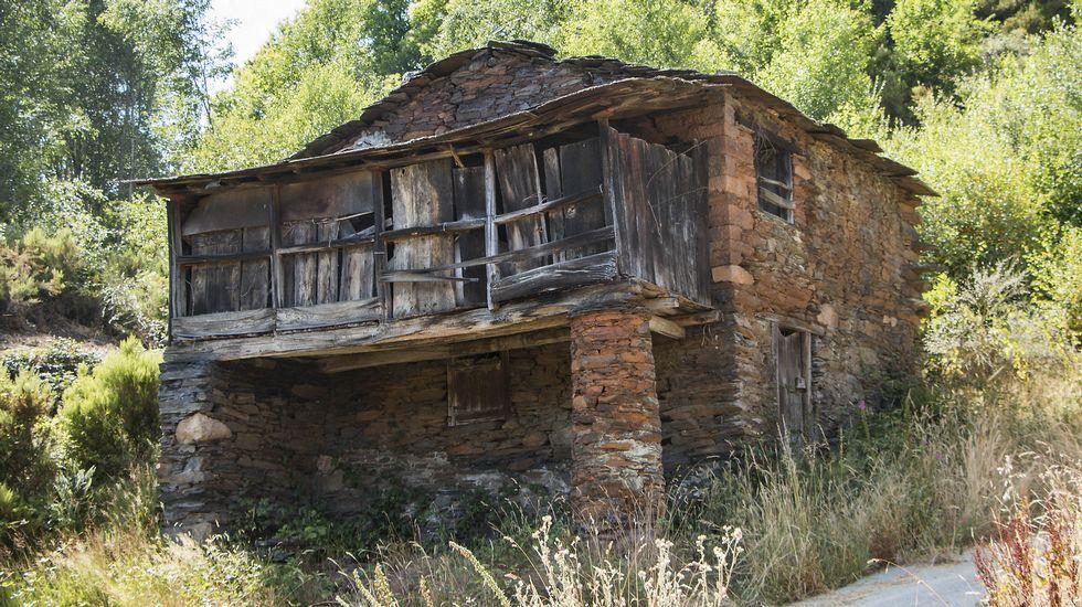 Una muestra de la arquitectura tradicional de montaña típica de la localidad