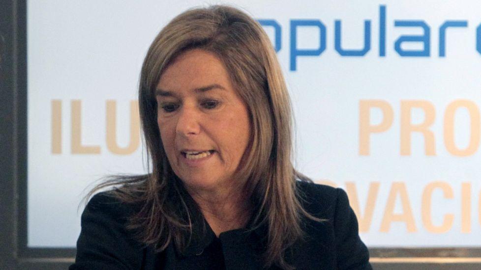 Ana Mato, el pasado enero en un comitó ejecutivo del PP