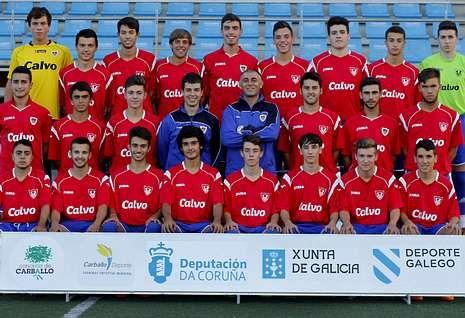 La plantilla del Bergantiños en la liga nacional la forman en la actualidad 24 futbolistas.