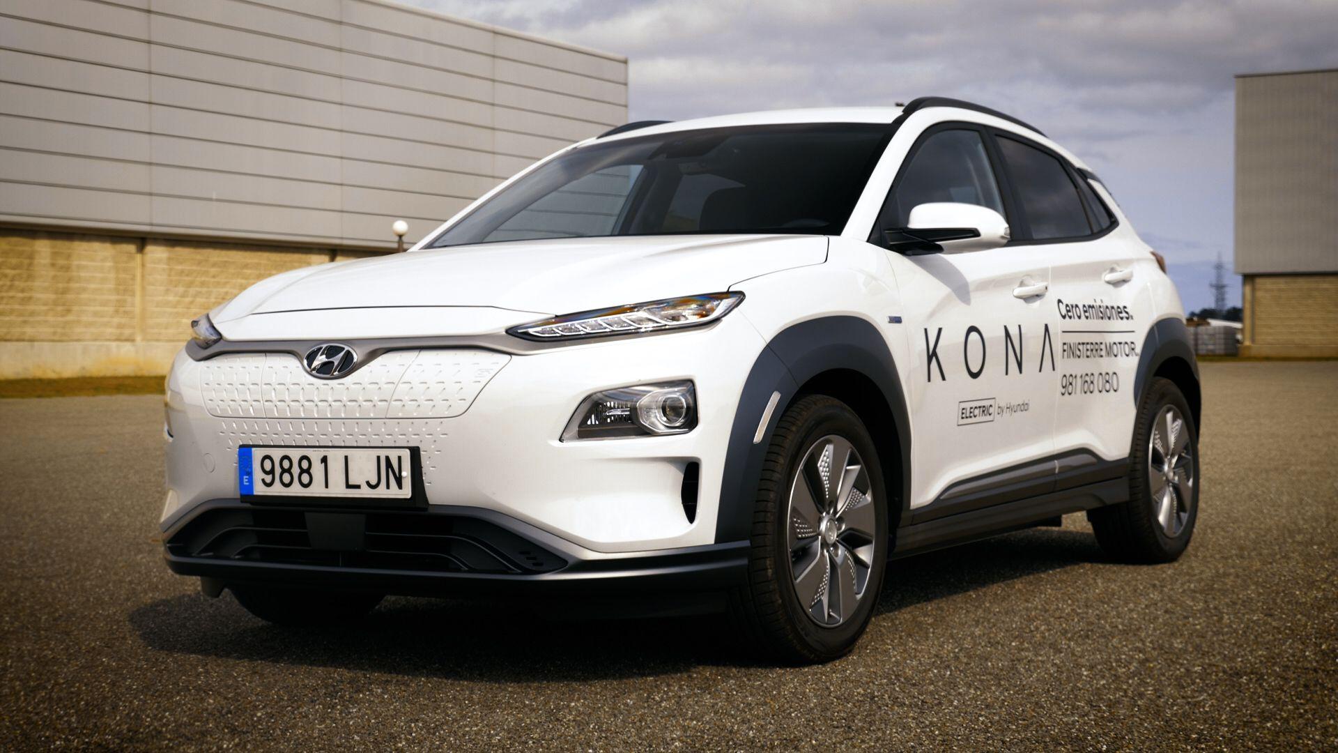 Hyundai Kona eléctrico, rápido y sin límites