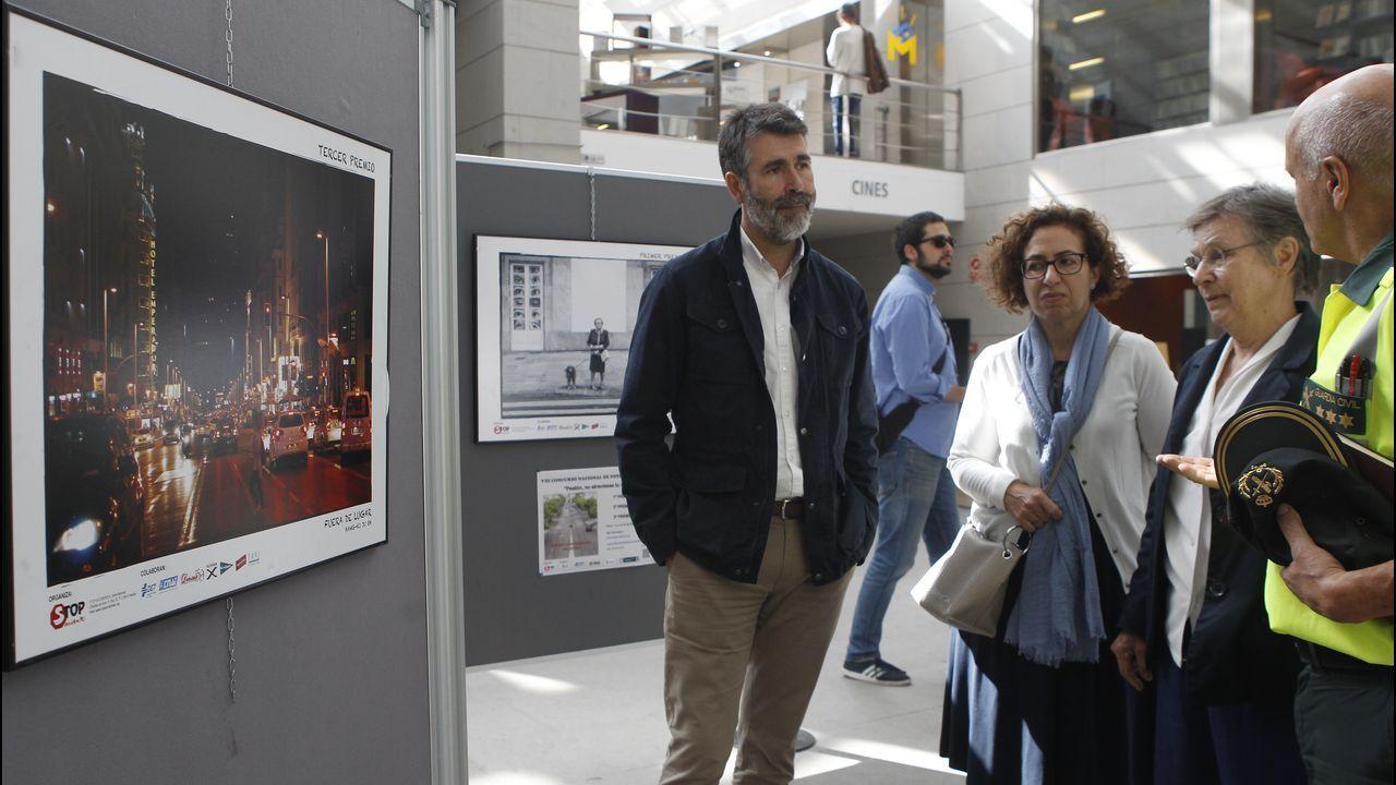 Inauguración de la exposición fotográfica  Peatón, no atravieses tu vida  en Fórum Metropolitano.