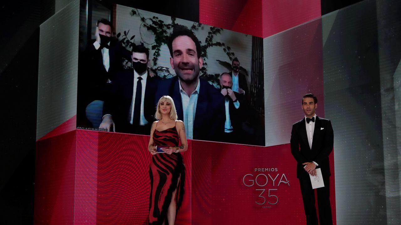 cine.Luis López Carrasco recibe el Goya al mejor documental por «El año del descubrimiento»