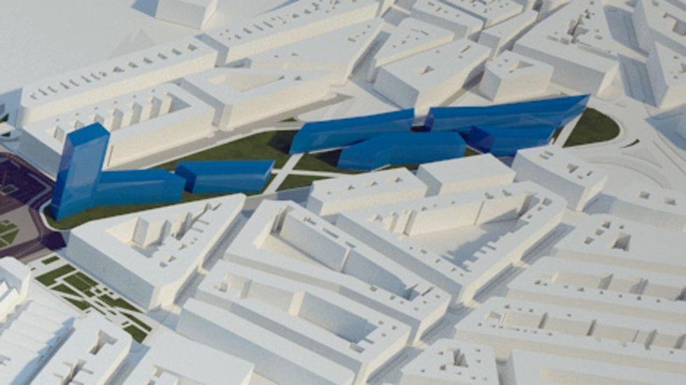 Simulación de urbanización en el «Solarón»