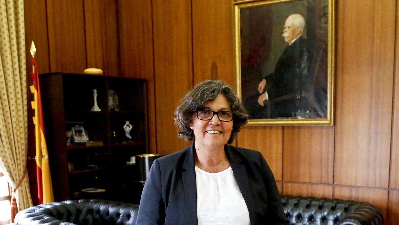 La alcaldesa de Porriño insulta a un concejal en el pleno