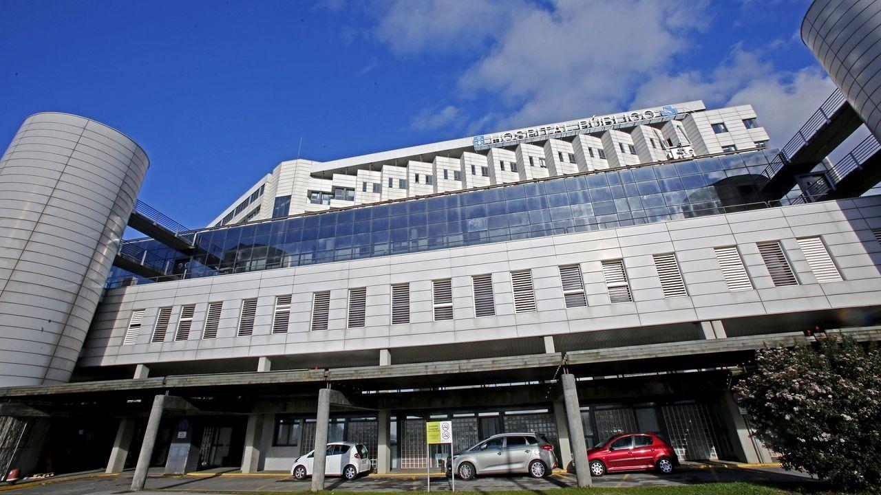 El hospital Montecelo, en Pontevedra, es el principal centro de referencia para los pacientes de covid en el área sanitaria