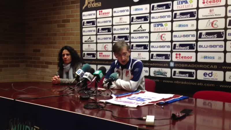 Moncho Fernández, 50 partidos de ACB y ponente en Pontepedriña.Imbroda habló sobre emprender en tiempos adversos.