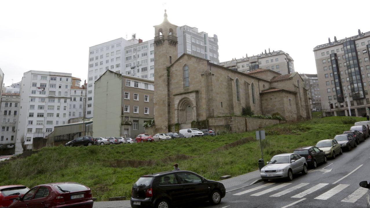 Iglesia de San Francisco en A Coruña