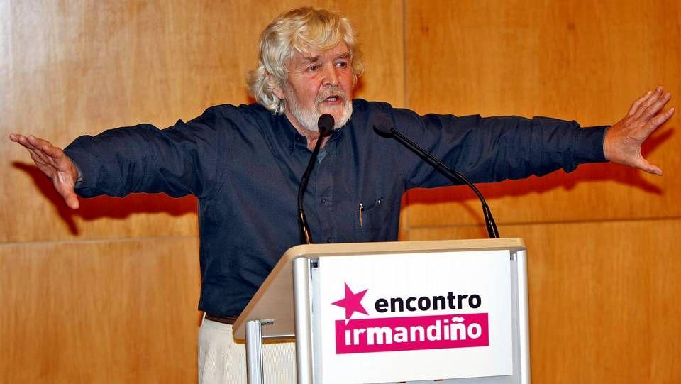 Los Irmandiños abandonan el BNG.Paco Rodríguez y Beiras en el 2009