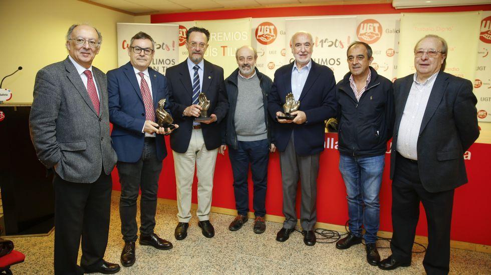 La obra de teatro inclusivo «Se vende ático» se presentó en la Fundación Barrié en A Coruña