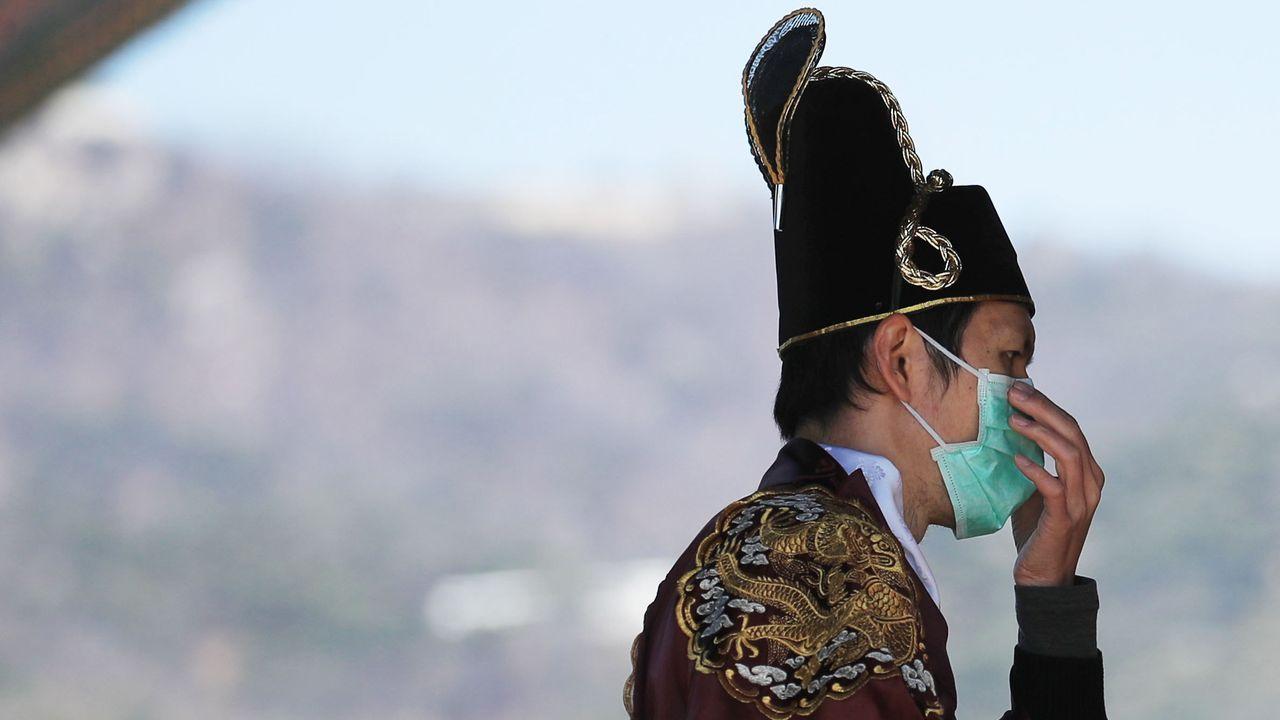 Corea del Sur supera los 600 casos y eleva los contagios, fuera de China, a más de 1.200.El líder norcoreano Kim Jong Un, en Vladivostok (Rusia) en una imagen de abril de 2019