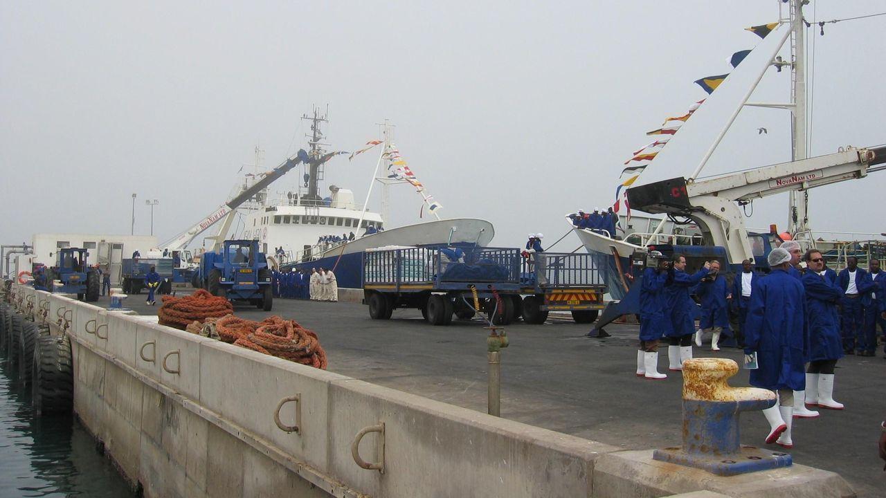 Despedido por daltónico un capitán vigués que faenaba en Namibia
