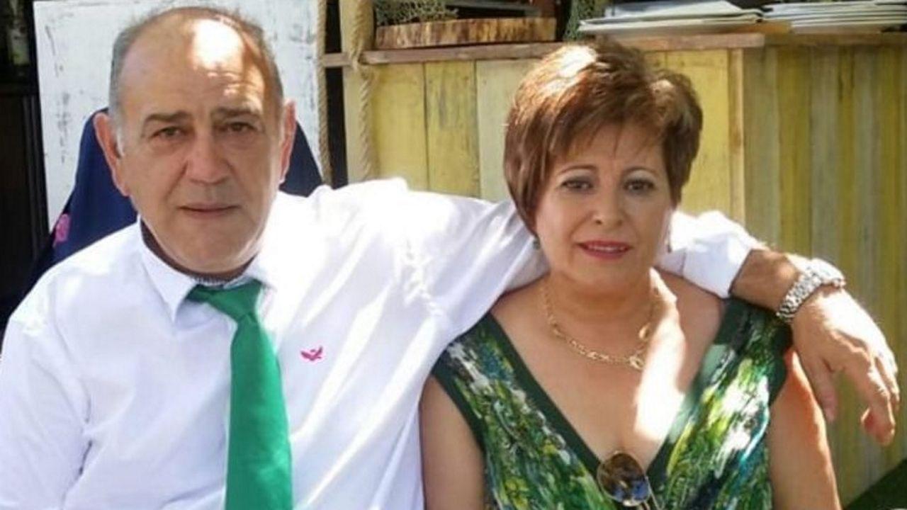 José Luis Tomé Pérez y su mujer, Encarnación Garcia, en una imagen tomada hace unos tres años