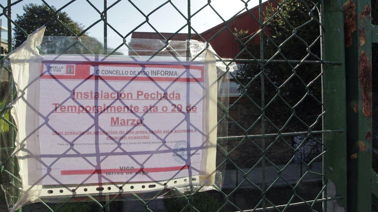 En Vigo, como en todas las ciudades y villas gallegas, se han cerrado al público las instalaciones municipales