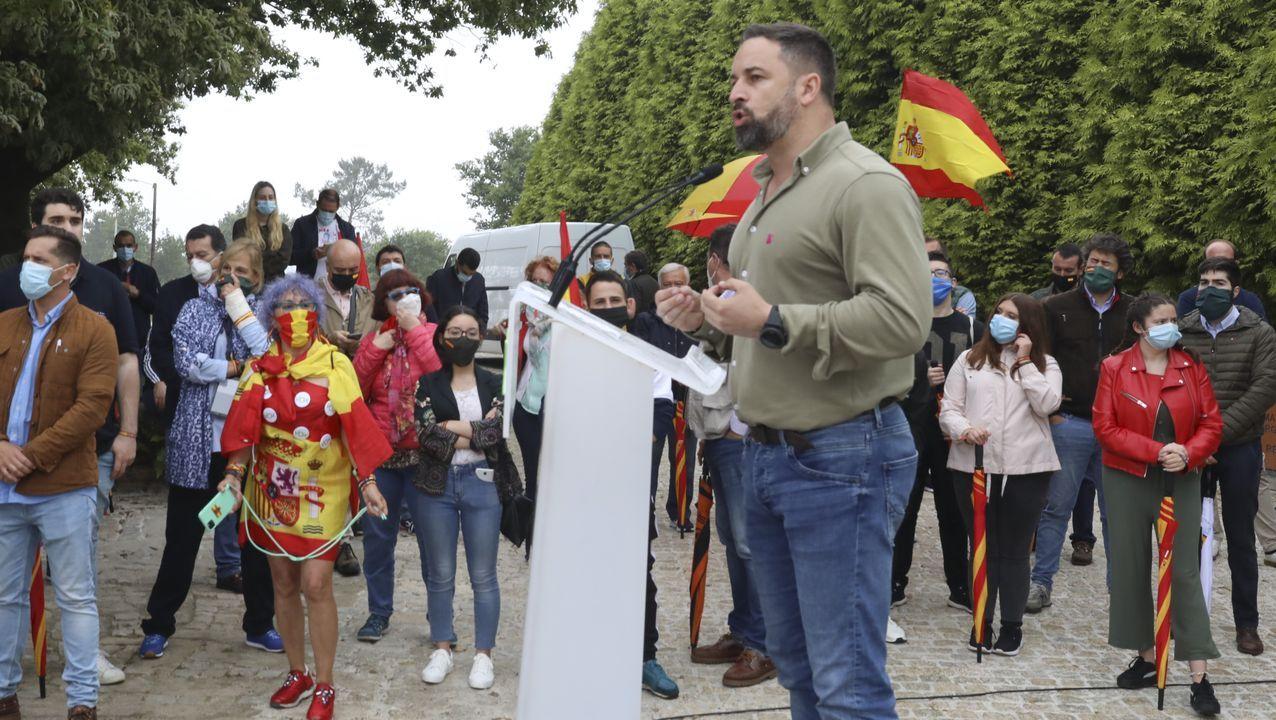 supremo.Almeida, en un acto en Madrid la pasada semana