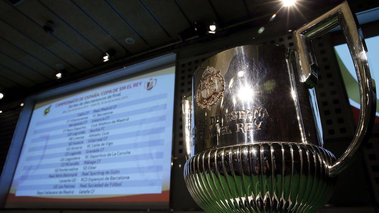 En directo: Sorteo de la Copa del Rey.Obras en la autovía Santiago-Lugo