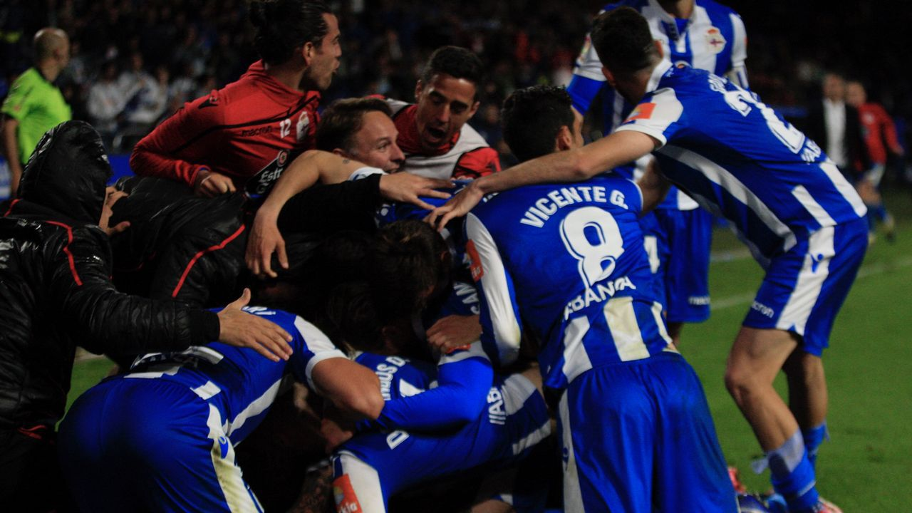 Las fotos del Deportivo - Mallorca.Borja Fernández se retiró del fútbol hace solo unos días, al final de esta temporada en Primera