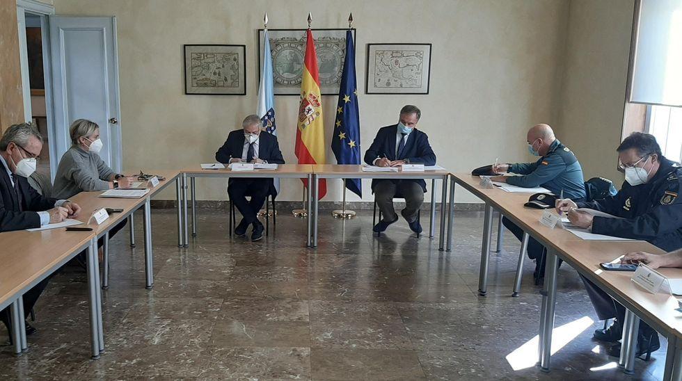 La reunión del Cecor tuvo lugar en Ourense