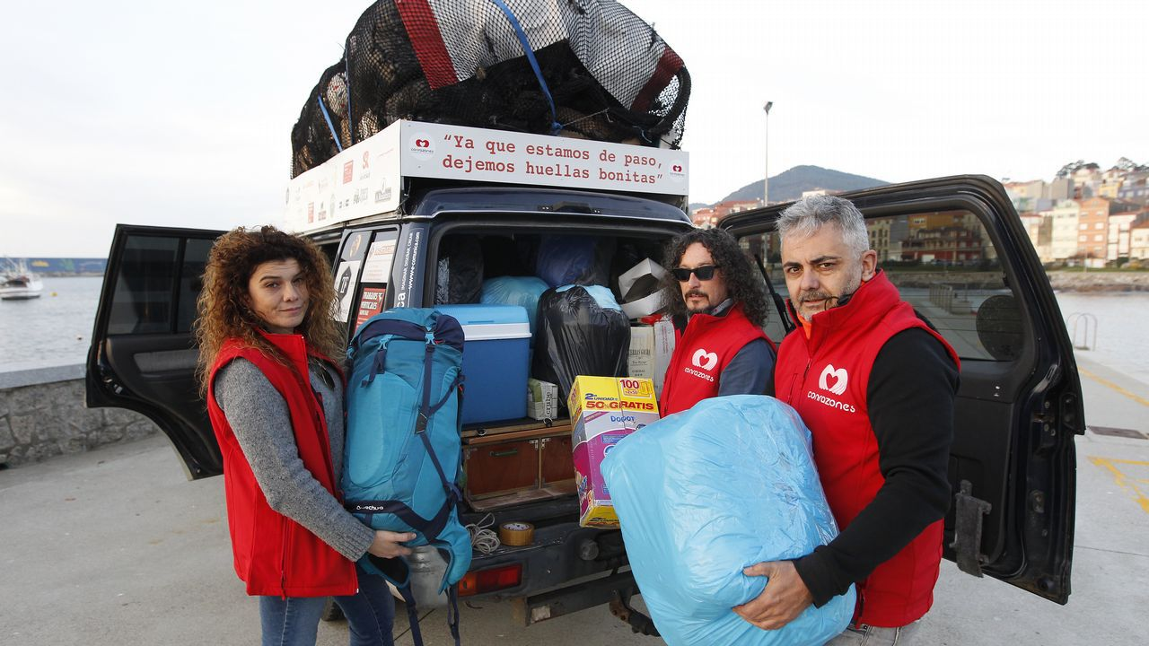2.000 kilos de ayuda para Marruecos.El cocinero asturiano José Andrés