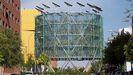 Ecobulevar de Vallecas (Madrid), una propuesta de energías renovables que proponen para la Fábrica de Gas de Oviedo